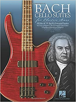 Amazon bach cello suites for electric bass 0884088957032 bach cello suites for electric bass 1014 free shipping fandeluxe Images