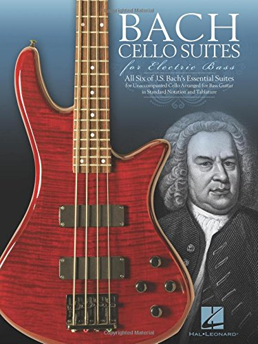 Bach Cello Suites for Electric - Electric Hal Leonard Music Sheet