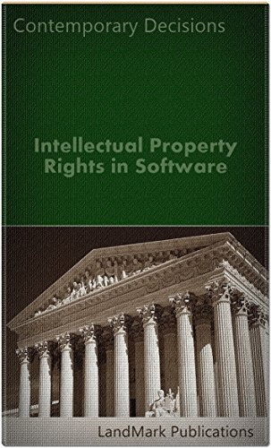 Intellectual Property Rights in Software (Intellectual Property Law Series)