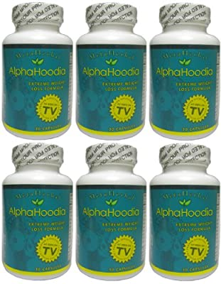 Alpha Hoodia: Best Diet Pill with Green Tea, Bitter Orange, Guarana, & More For Weight Loss - Fat Burner & Weight Control - 180 Diet Pills