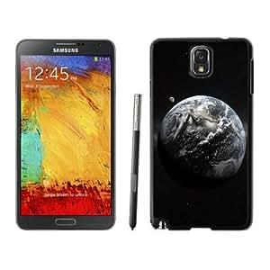 Beautiful Custom Designed Cover Case For Samsung Galaxy Note 3 N900A N900V N900P N900T With Earth In Space Phone Case WANGJING JINDA