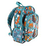 LONE CONE Kids' Canvas Preschool Backpack, Campfire Critters