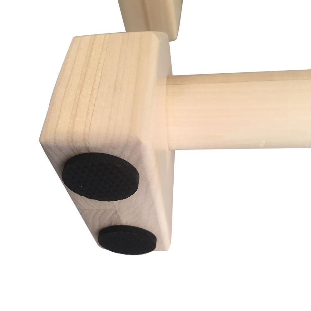 Rateful 50CM Wooden Push-up Bracket I-shaped Push-up Bracket Pushup Stands