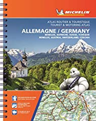 Michelin's European atlases have an exciting new look inside and out. The new cover design highlights the focus on road travel adventures and discovery, while inside, the new, simplified page numbers make it easy to locate the...