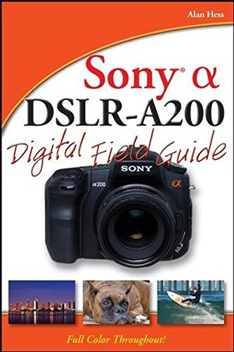 Sony Alpha DSLR-A200 Digital Field Guide for sale  Delivered anywhere in Canada