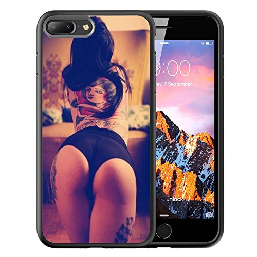 iPhone Black Customized Rubber tattoos product image