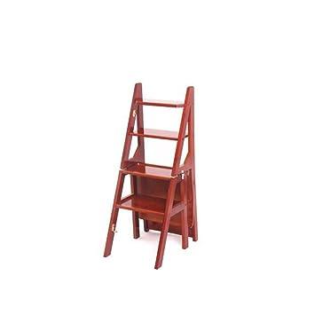 Zaiyi Escaleras De Bambú Escaleras Sillas De Casa Escaleras ...