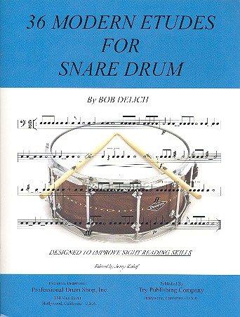 36 Modern Etudes For Snare Drum