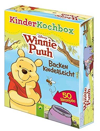 Disney Kinderkochbox - Winnie Puuh: Backen kinderleicht - Box mit 50 Rezeptkarten