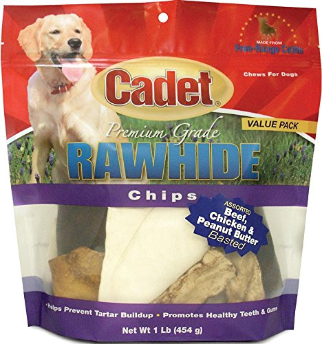 634314 Rawhide Assorted Basted Chips Value Pack Assorted, 1 lb, (Value Pack 1 Lb Chips)