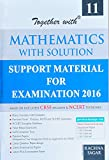 Together with CBSE Mathematics With Solution - Class- XI