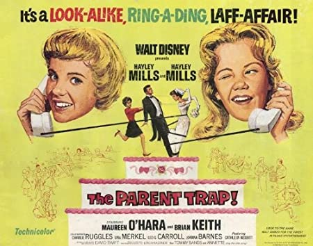 The Parent Trap (1961) 22 x 28 Movie Poster - Half Sheet Style A ...