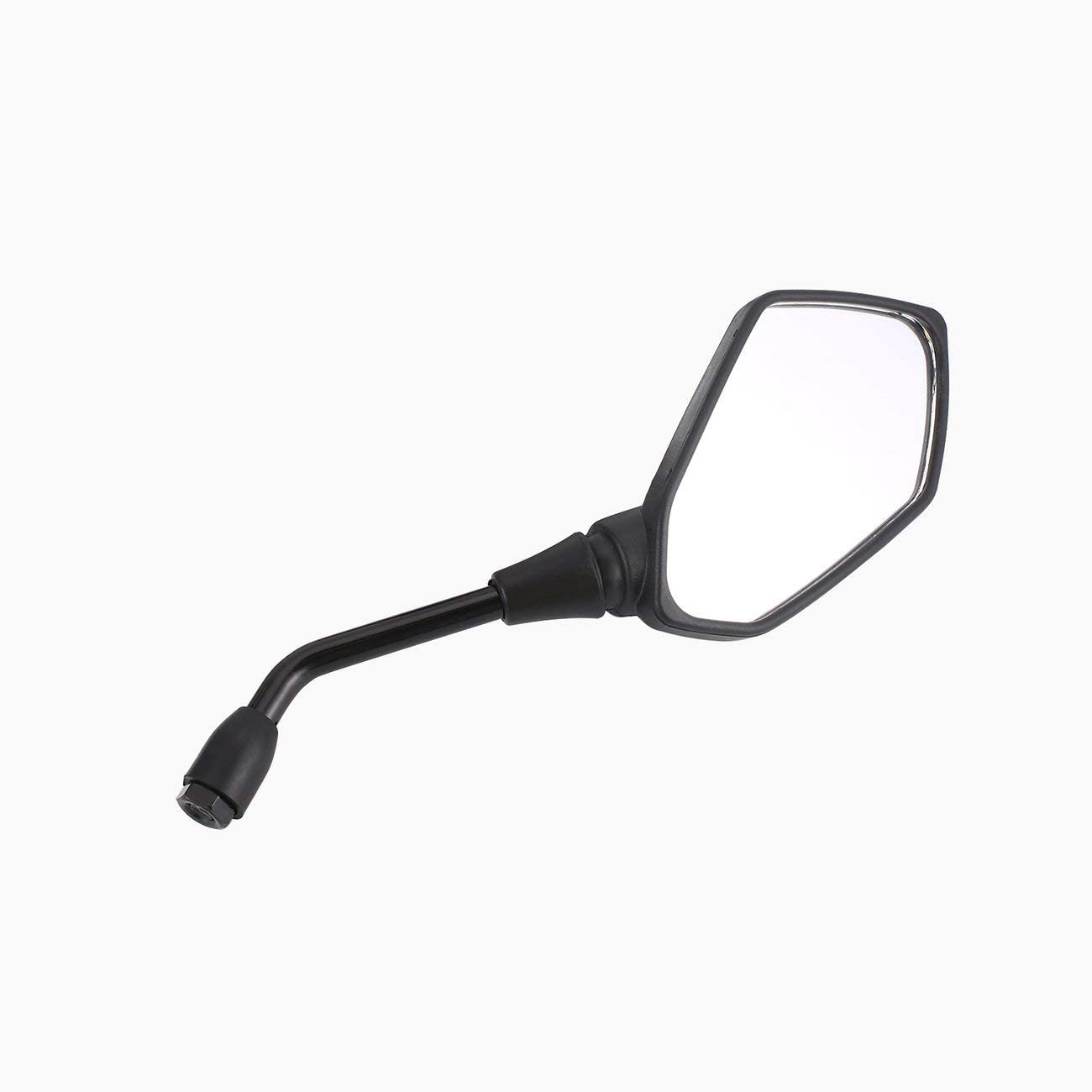 Black JIUY 2 pcs//pair Motorcycle Electrombile Back Side Scooter Mirror And Moto Mirrors Mirrors Convex Mirror 10 8mm mm Carbon Fiber