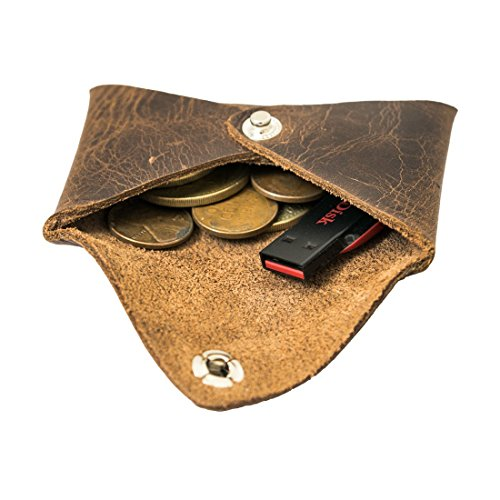 Leather Small Coin Case - 3