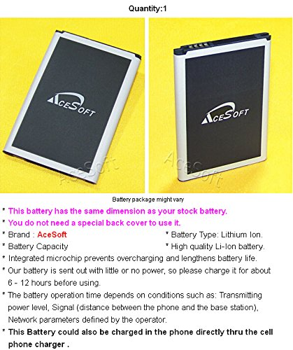 New 4000mAh Extended Slim Battery External Wall USB/AC Charger Pen for T-Mobile LG G4 H811 Android Phone
