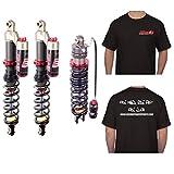 ELKA Suspension Stage 3 Front Shocks & Stage 4 Rear Shock Kit Yamaha RAPTOR 660