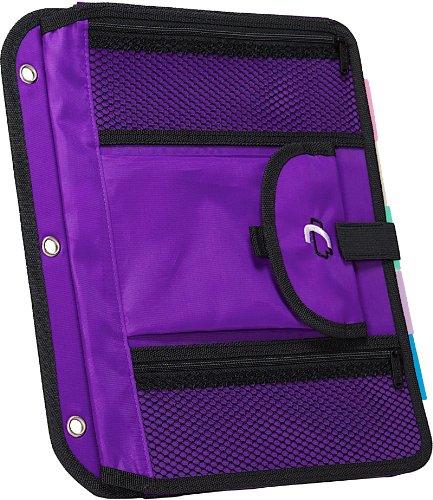 Case-it Locker Accessory 5-Tab File, Purple, ACC-21-PUR