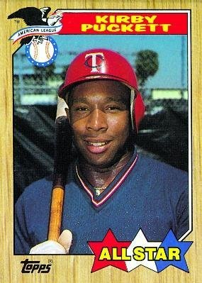 1987 Topps All-star Kirby Puckett #611 Minnesota Twins Baseball Card ()