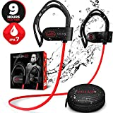 Best Bluetooth Headset For Working Outs - [Newest 2019] Bluetooth Workout Wireless Headphones for Running Review