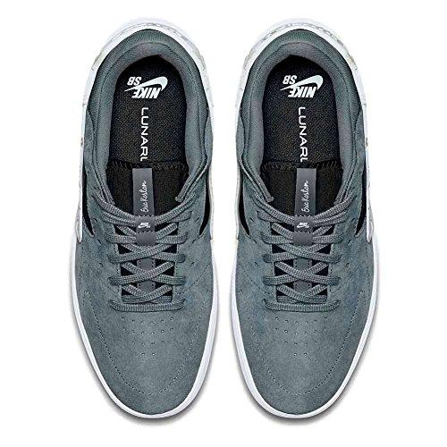 Nike ERIC KOSTON HUARACHE Herren Turnschuhe 705192-441 Kühles Grau Schwarz Weiß 002