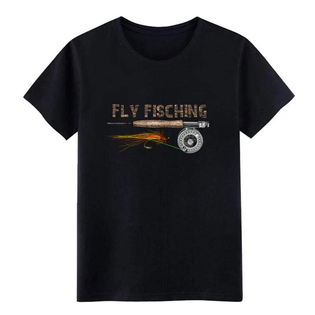 Fly Fisching S T Shirt Printing Short Sleeve Tee
