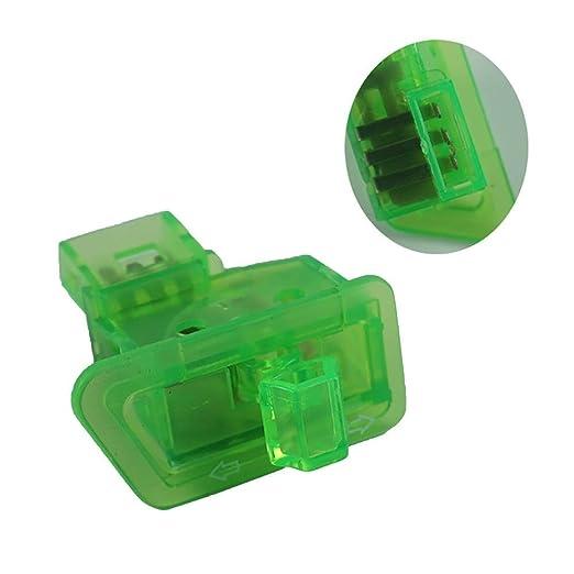 MJY Interruptores de 5 piezas Cabezal Luz Bocina Dimmer ...