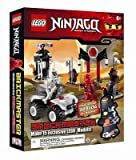 Lego Ninjago Brickmaster: Masters of Spinjitzu [With 140 Lego Bricks, 2 Minifigures]   [LEGO NINJAGO BRICKMASTER] [Hardcover]