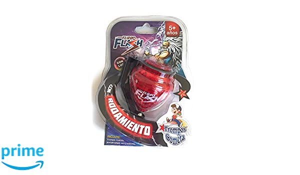 Amazon.com: Grahmart Deluxe Turbo Flash Trompo Mexicano - Durable Plastic Spin Tops & Metal Tip LED Light: Toys & Games