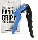 The Ultimate Hand Grip Strengthener – Adjustable Hand Exerciser with 4 Resistance Settings – Beginner, Intermediate, Advanced and Extreme. Includes Free Crush Your Competition Workout Guide Review
