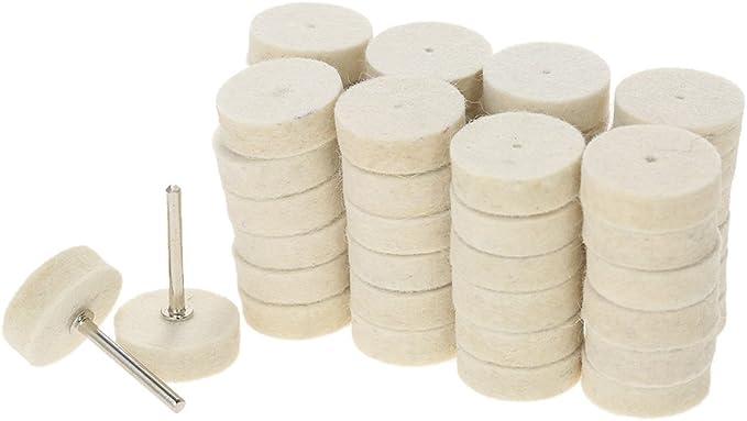 129 pcs Abrasif Polissage Roue Outils De Polissage Laine Feutre M/étal Surface Polissage Accessoires pour Dremel Rotary Outil