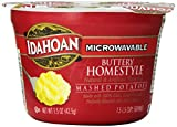 Idahoan buttery home-style mashed potatoes made with 100% real Idaho potatoes.