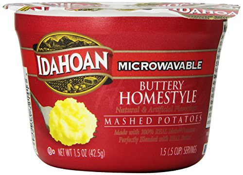 single serve mashed potatoes - 2