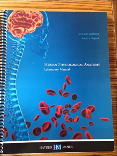 Human Physiological Anatomy Laboratory Manual 2nd Edition Hayden