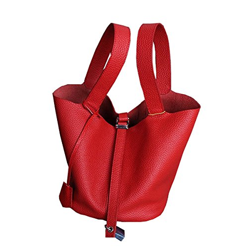 femme à main cuir fashion Sac main en 8098 Sac portés bandoulière Valin LF Rouge Sac RwfqgtW8x