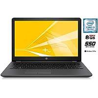 HP 250 G6 Notebook PC, cpu Intel Core i3 di 7 gen. da 2,3 GHz, display 15.6 HD LED SSD da 240 GB, 8 Gb DDR4 ,Bt ,WIFI,Hdmi,Dvd-Cd+r-r, Win10 Pro e Office Pro 2019 ,pronto all'uso ,Garanzia Italia