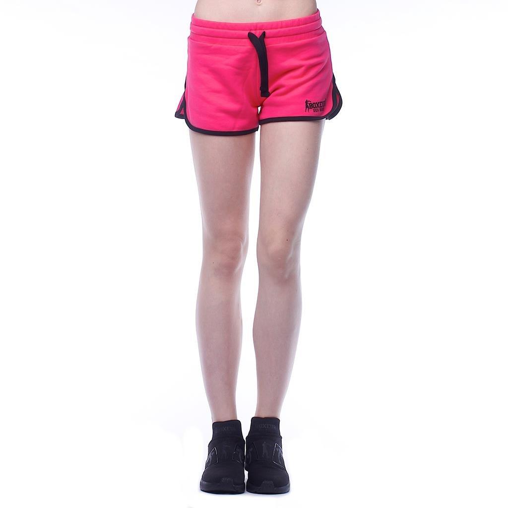 BOXEUR DES RUES Serie Exclusive, Pantaloncini Donna, Fuxia, L BXE-1714G-L-FUX-UK