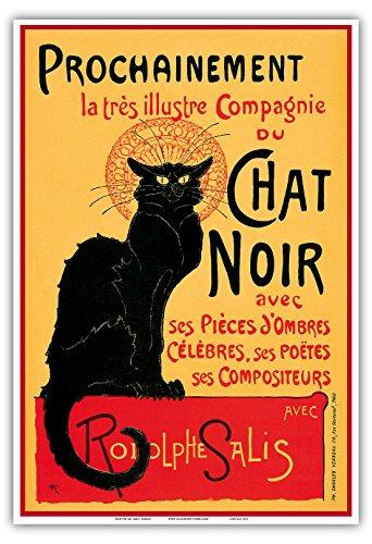 Le Chat Noir (The Black Cat); La tournée du Chat Noir avec Rodolphe Salis (Rodolphe Salis Thetare Company