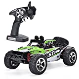 remote control big foot - QQPOW RC Car 4x4 32MPH High Speed 1/12 Scale Remote control Desert Monster Truck Road Car Big Foot 4WD Electric Power 2.4GHz Remote Control (green)