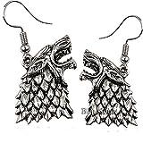 Stark Earrings Jewelry For Women - Thrones Game Jewelry Gifts Merchandise