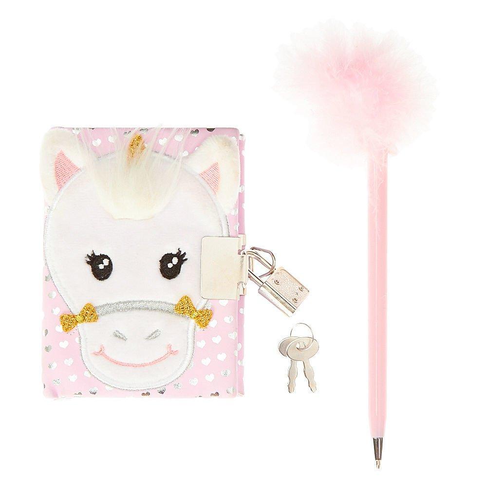 Amazon.com: Claire 's Girl' s Kids Fuzzy Color ...