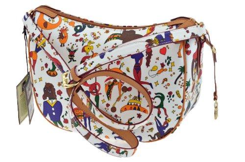 21B204088 98 borsa donna Piero Guidi, Colore bianco
