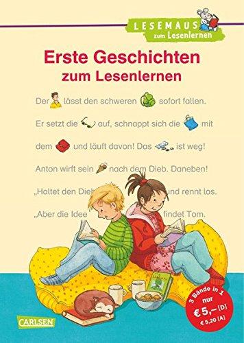 LESEMAUS zum Lesenlernen Sammelbände: Erste Geschichten zum Lesenlernen: Bild-Wörter-Geschichten – mit Bildern lesen lernen