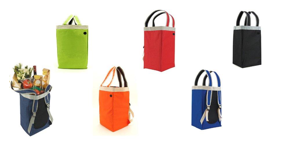 Crossover Tote&Backpack/ Shoulder Tote Bag/ Multifunction Backpack, Froest Green by Tote Bag (Image #2)