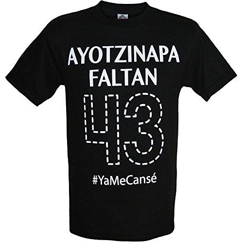 Ayotzinapa Flatan 43 #YaMeCanse Mens Shirt by ShirtBANC