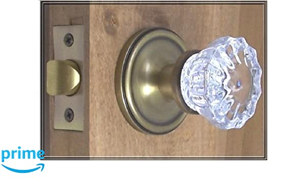 Merveilleux FINEST Premium CRYSTAL GLASS Passage Door Knob Set. Very Special Purchase  Of The Finest Crystal Glass Passage Door Set, With All The Hardware Needed  To ...