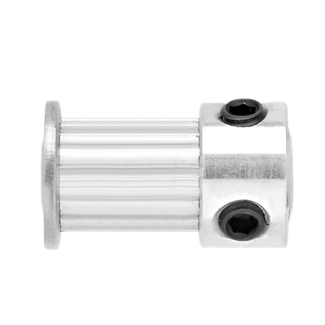 uxcell Aluminum MXL 16 Teeth 6mm Bore Timing Belt Pulley Synchronous Wheel for 6mm Belt 3D Printer CNC