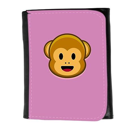 Cartera para hombre // Q05210618 Monos emoji 1 Bronce // Small Size Wallet