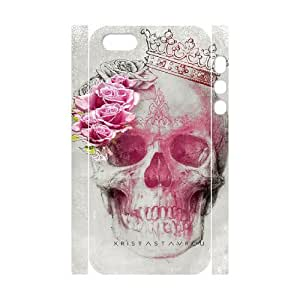skull 3D-Printed ZLB816373 Personalized 3D Cover Case for Iphone 5,5S
