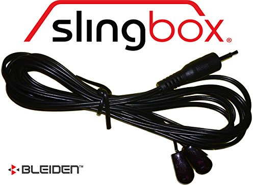 Slingbox IR Emitter/Infrared Blaster Cable for All Sling Models (2 Heads/Control One or Two Devices) (Receiver Slingbox)