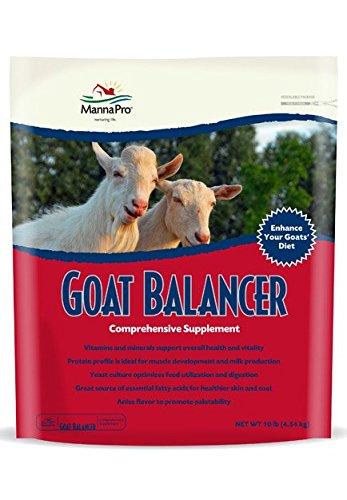 Manna Pro Goat Balancer Supplement, 10 lb
